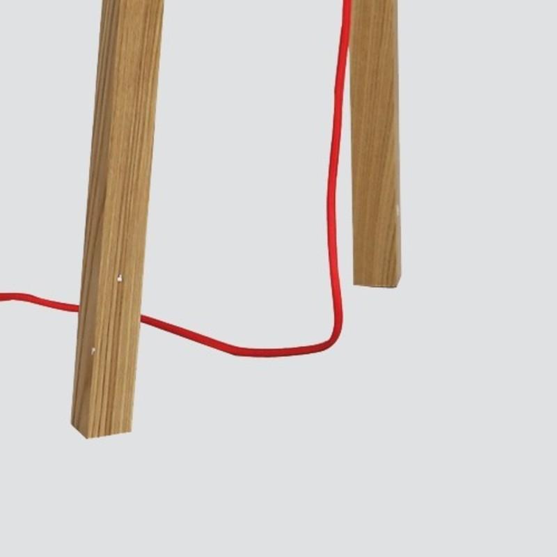 stehlampe dreibein holz great stehleuchte tripod with stehlampe dreibein holz gallery of. Black Bedroom Furniture Sets. Home Design Ideas