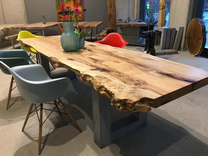 Holzwerk Hamburg baumtisch aus ulmenholz holzwerk hamburg aus hamburg auf productmate