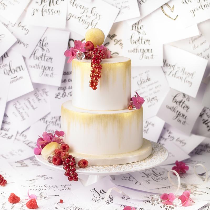 Hochzeitstorte In Sonderanfertigung Von Patisserie Passion Aus